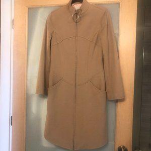 EUC Moschino Jeans Wool Camel Coat